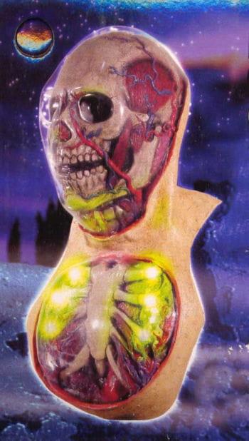 Future Skull Mask LED Effect!