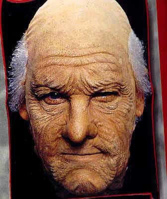 A: Old Age Latex Face Appliance