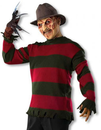 freddy krueger sweater xl freddy krueger sweater in plus size horror. Black Bedroom Furniture Sets. Home Design Ideas