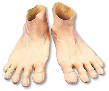 Riesen Comic Füße