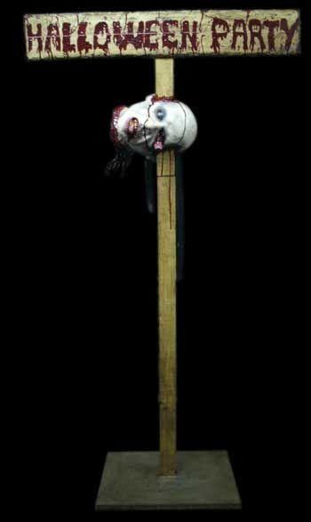 Freaky Halloween Party Schild