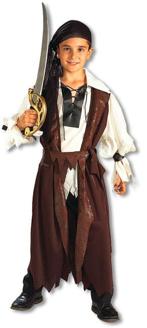 Carribean Pirate Child Costume M