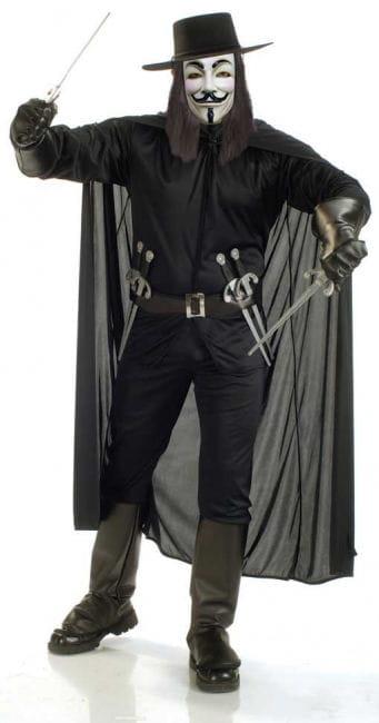 V for Vendetta Deluxe Kostüm