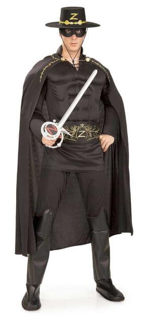 Zorro Muskel Deluxe Kostüm