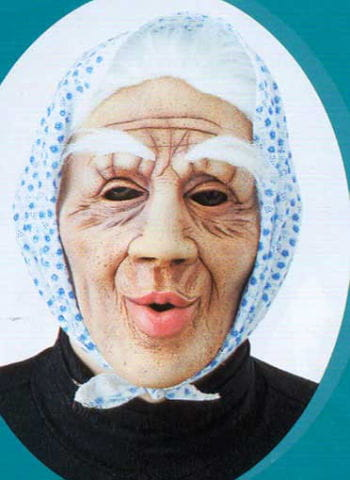 Old granny mask Dolly