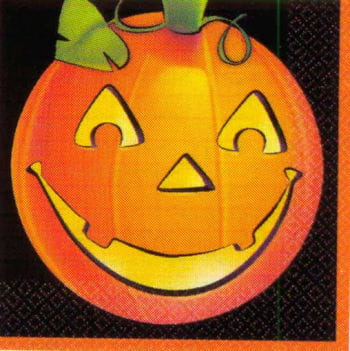 Pumpkin Napkins 16PCS