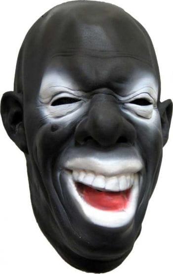 Schwarze Clown Maske