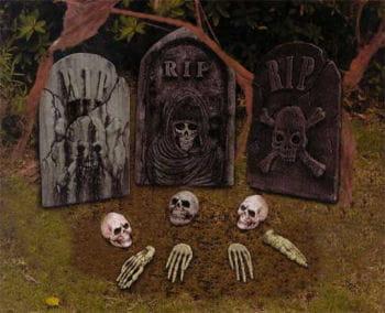 Friedhofs Set 12-teilig