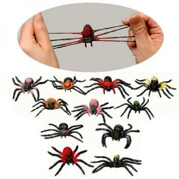 12 Slimy Stretch Spinnen