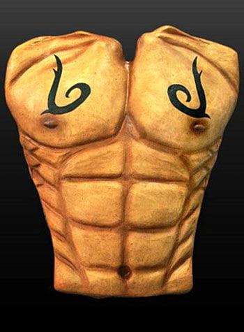 Tattoo Oberkörper aus Latex