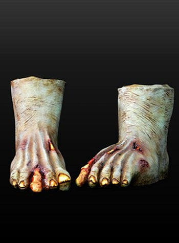 Zombie Feet Latex Dark