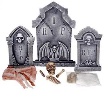 Tombstone Cemetery Set 10 PCS