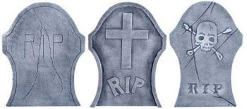 Tombstone Set 3 PCS
