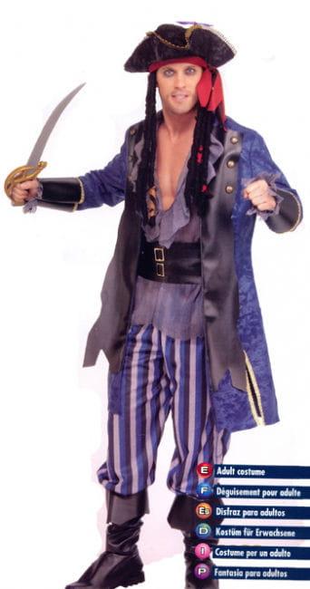 Pirate Captain Costume. M