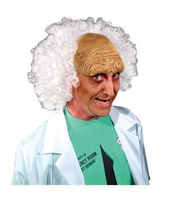 Verrückter Professor Perücke