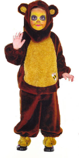 Honey Bear Child Costume Size 104