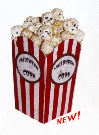 Halloween Skull Popcorn