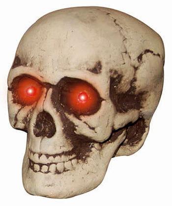Creepy LED Totenschädel