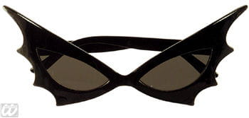 Bat Woman Sun Glasses Black