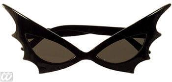 Bat Woman Sonnenbrille schwarzes Glas