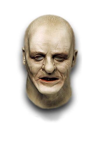 Old Hannibal Lecter Foam Latex Mask