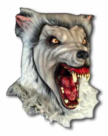 Arctic Werwolf Maske