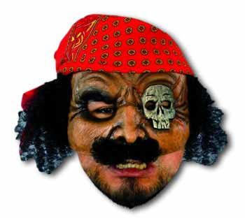 Black Jack Piraten Halbmaske