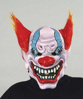 Teuflischer Feuerclown Maske