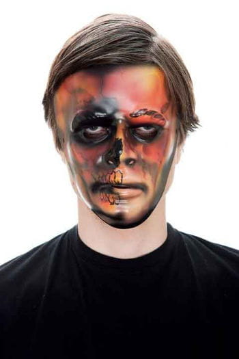 Scary Flame PVC Gesichtsmaske