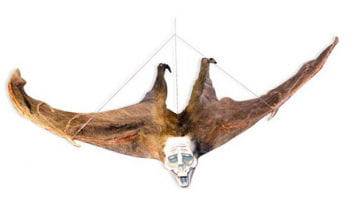 Hairy Bat with Ghost Face