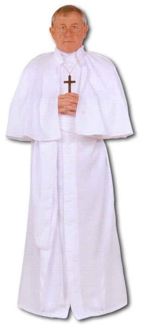 White Pope Premium Costume