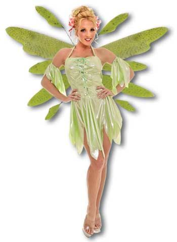 Wood Elf Costume Green Medium
