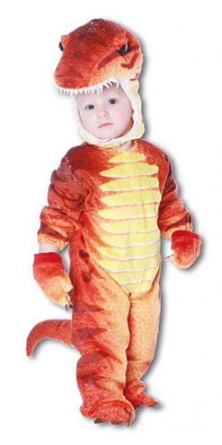 Dino Rex Kostüm Rot S
