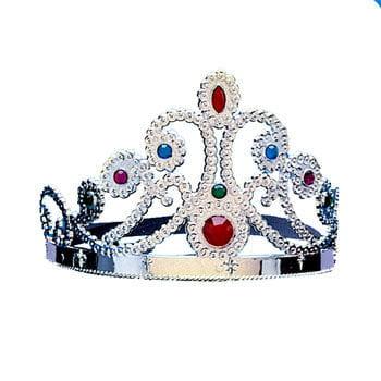 Silberne Krone Cindy mit Edelsteinen