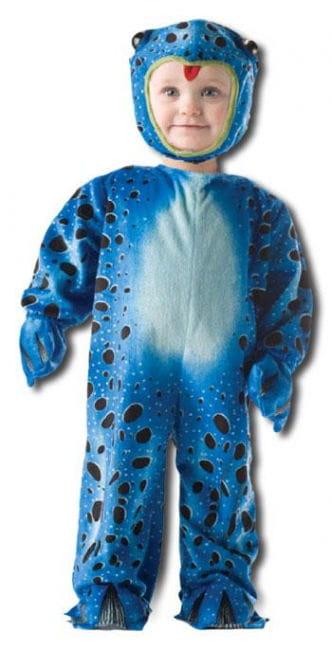Blauer Frosch Kinderkostüm Gr. S (6 bis 12 Mo)