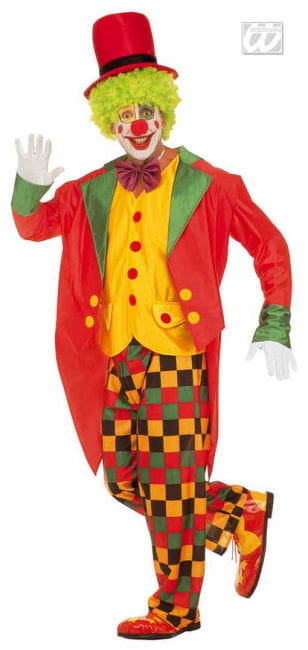 Clown costume with Frack L
