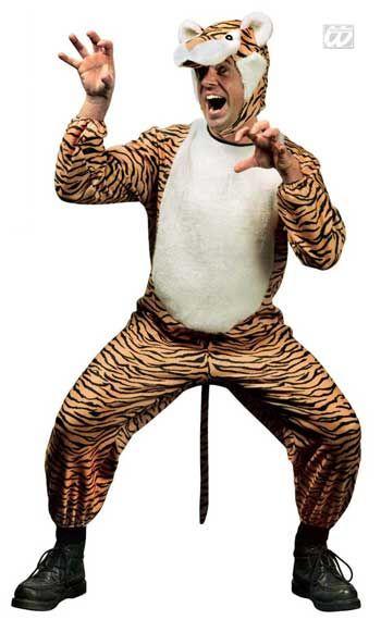 Wilder Tiger Kostüm M