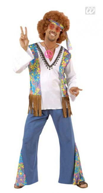 Hippie Men's Costume Gr. S