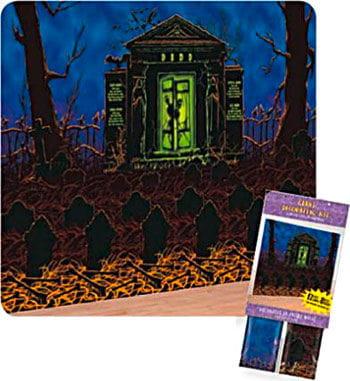 Cemetery decoration film