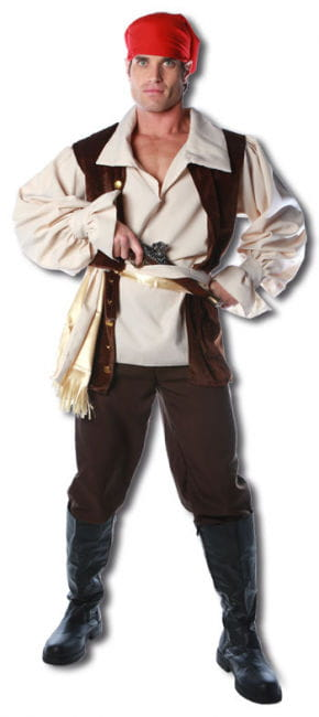 Karibik Piraten Premium Kostüm One Size
