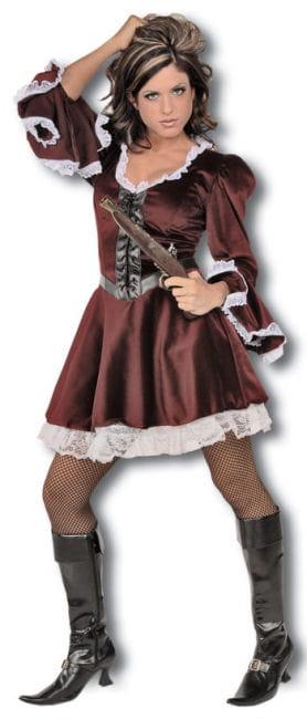 Korsaren Braut Premium Kostüm Gr. S