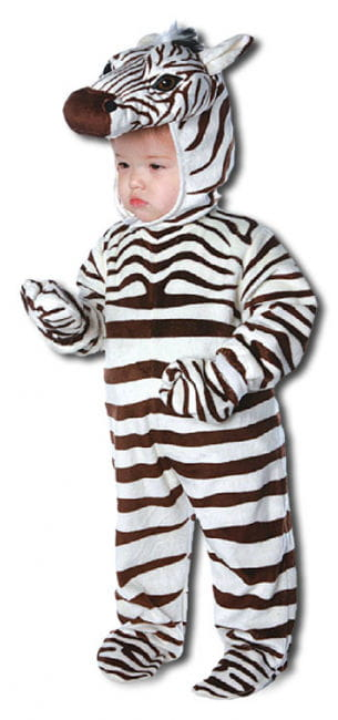 Happy Zebra Child Costume Medium