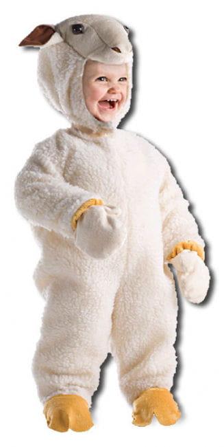 Fluffy Lamb Child Costume M