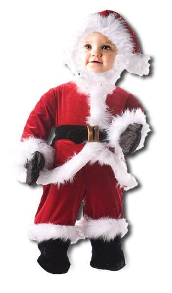 Droll Santa Child Costume. S