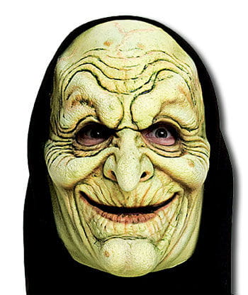 Witch Beldame Foam Latex Mask