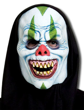 Cackles Clown Foam Latex Mask