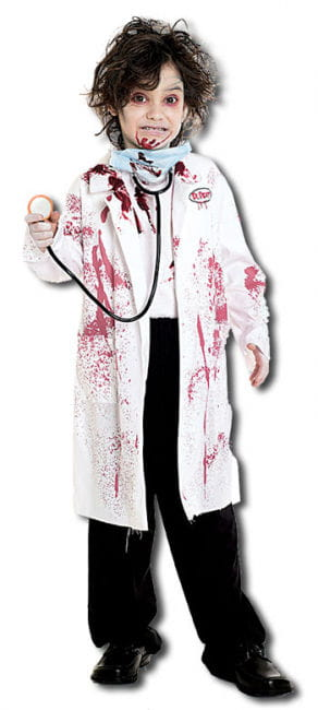 Deadly Surgeon Child Costume Size L
