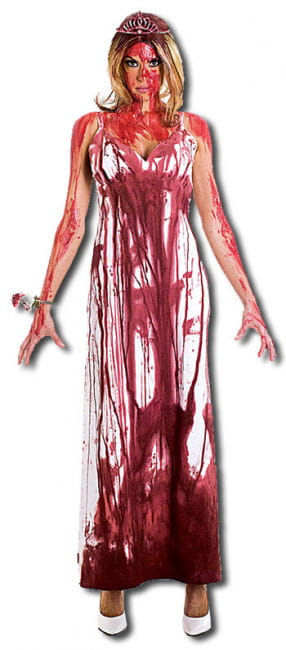Carrie Prom Queen DLX Costume M