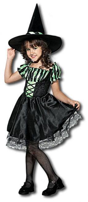 Lime Witch Child Costume. L
