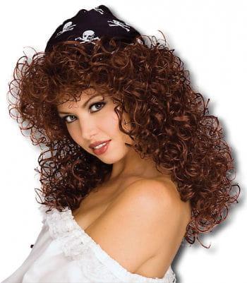 Pirate Bride Wig brown